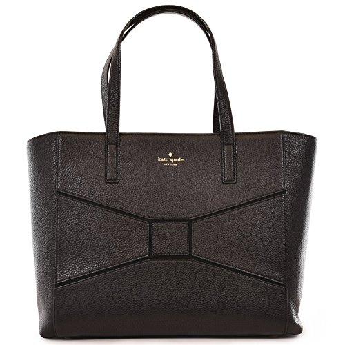 Kate Spade Francisca Bridge Place Bag, Leather, Black #WKRU3674