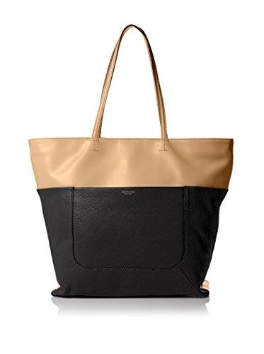 Isaac Mizrahi Designer Handbags: Leather Lillian Tote Bag – Black (See More Colors)