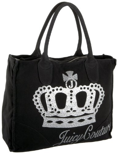 Juicy Couture YHRU1710 Power Tote Queen Of Couture Tote