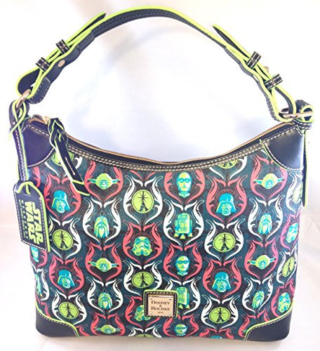 Disney Exclusive Dooney & Bourke Star Wars Weekends 2015 Hobo Purse Bag Handbag