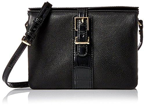 Isaac Mizrahi Designer Handbags: Leather Kamela Crossbody Bag (See More Colors)