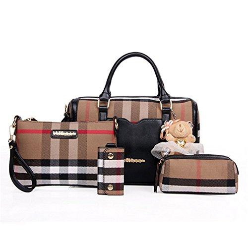 Bagoddess Boston Multiple Women Four Piece Handbag(C2)