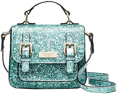 kate spade new york  Girls Scout Bag, Mint Glitter, One Size