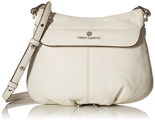 Vince Camuto Dean Cross Body, Snow White, One Size