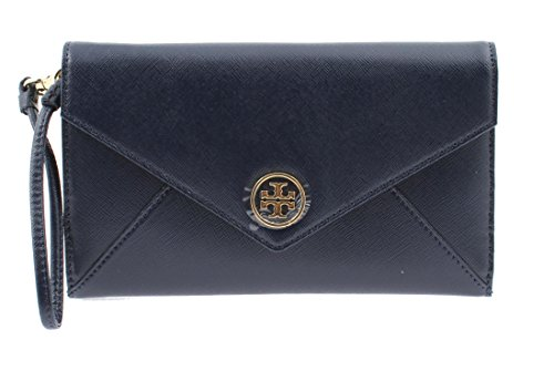 Tory Burch Robinson Envelope Saffiano Leather Wristlet 18169270