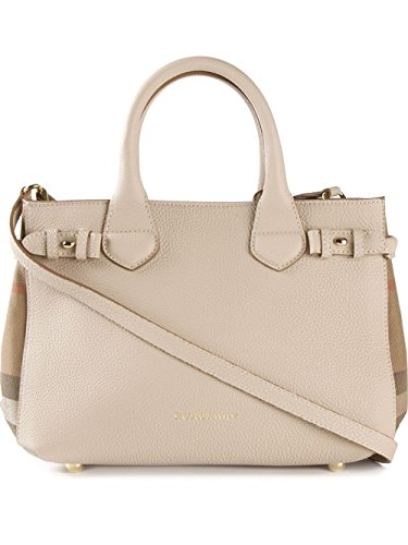 Burberry small Banner satchel in Beige / House check