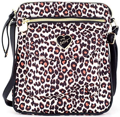 Betsey Johnson Women's Nylon Mush Crossbody/Xbody Handbag, Spot