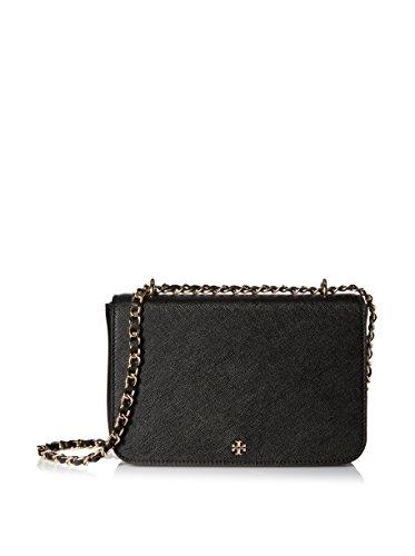 Tory Burch Robinson Adjustable Shoulder Handbag in Black