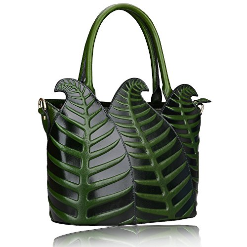 Pijushi Designer Inspired Ladies Top Handle Handbags Embossed Leather Satchel Tote Shoulder Bags