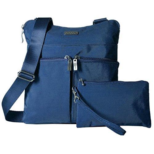 Baggallini Nylon Classic Horizon Crossbody Bag (Pacific)