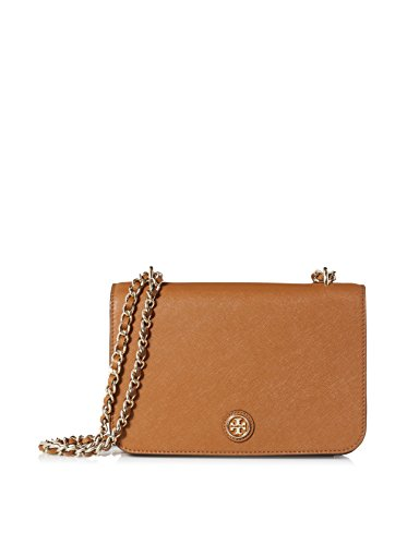Tory Burch Robinson Adjustable Shoulder Bag in Tigers Eye
