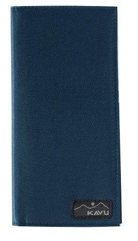 Kavu Bills Bi-Fold Wallet 7″ X 3.5″ in Teal 985-33
