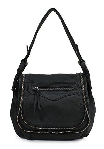 Scarleton Stylish Accent Zipper Crossbody Bag H1785