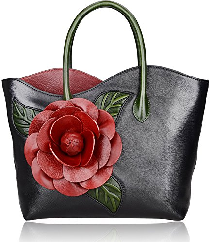 Pijushi New Designer Inspired Ladies Handmade Floral Tote Shoulder Bags 8825