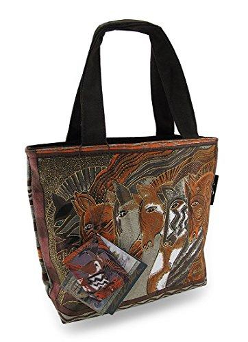 Laurel Burch Horses Moroccan Mares Mini Tote Bag Purse