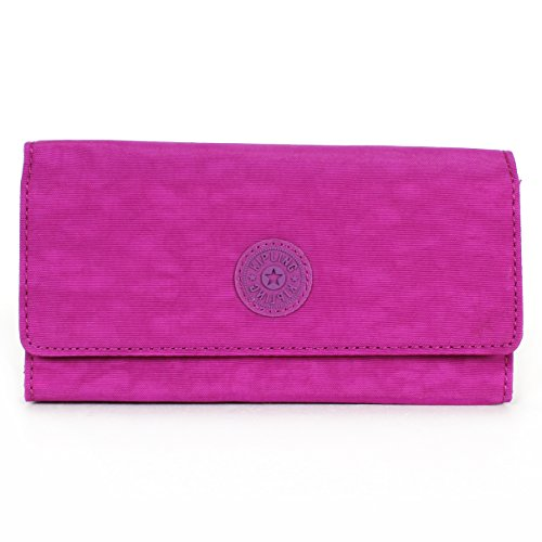 Kipling Brownie Large Wallet Purple Dahli