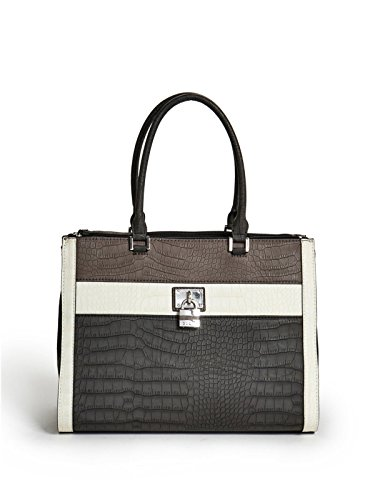GUESS Women's Delray Croc-Embossed Carryall