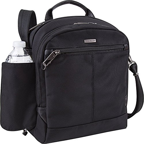 Travelon Anti-Theft Concealed Carry Tour Messenger Bag