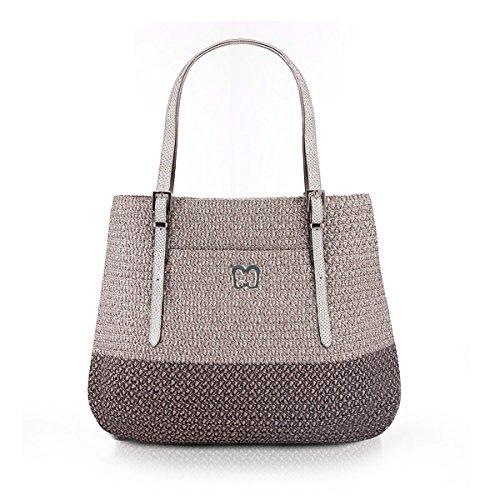 Eric Javits Women's Squishee Jav II Handbag One Size (Ash)