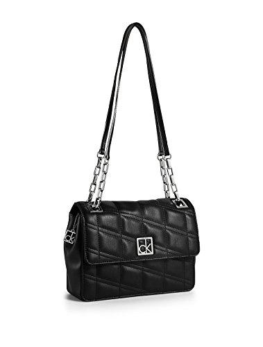 Calvin Klein Kora Chain Shoulder Bag Black