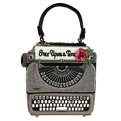 Mary Frances Just My Type Typewriter Old School Handbag Bag