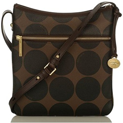 Brahmin Women's Brown Slim Crossbody Bag