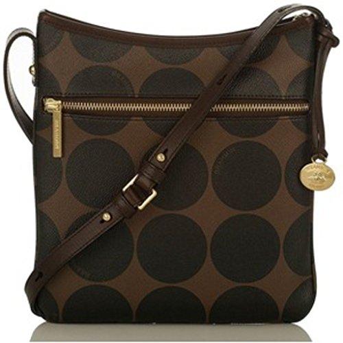 Brahmin Women's Brown Slim Crossbody Bag