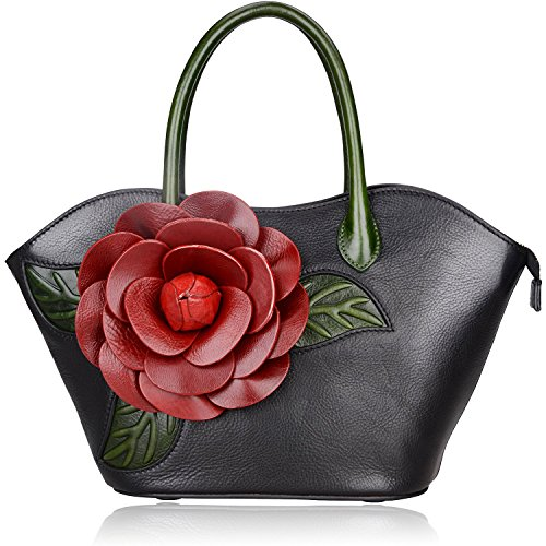 Pijushi Designer Inspired Ladies Handmade Leather Tote Shoulder Bags 8828