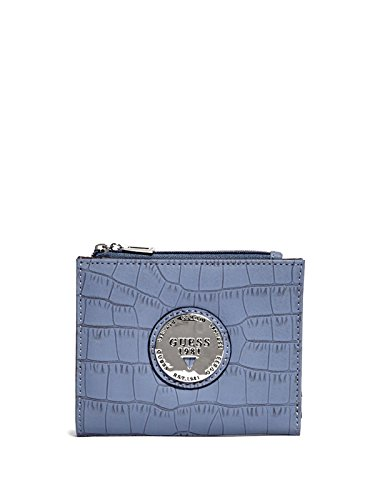 GUESS Women's Delrose Croc-Embossed Wallet