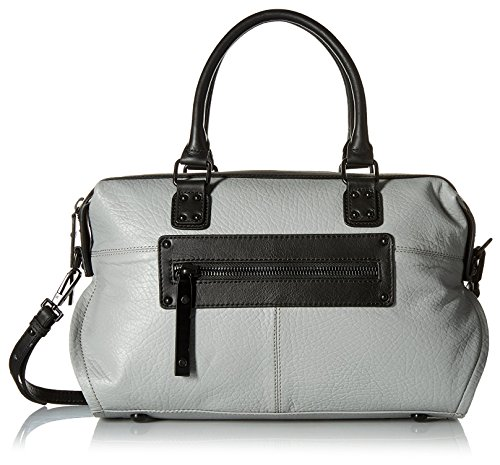 L.A.M.B. Women's Haloma Satchel, Grey