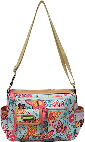 Lily Bloom Libby Butterfly Crossbody Handbag One Size Multi