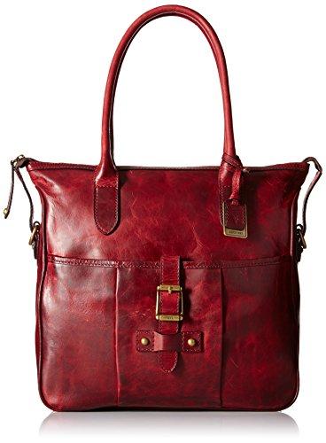 FRYE Parker Tote Shoulder Bag, Burgundy, One Size