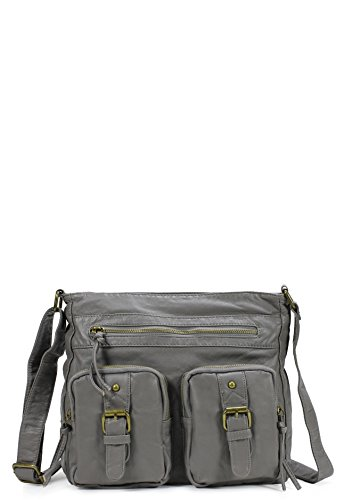 Scarleton Quotidian Multi Pocket Crossbody Bag H1826
