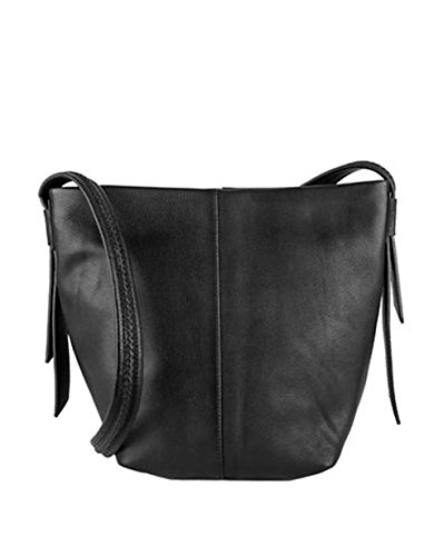 COLE HAAN LOCKHART MEDIUM CROSSBODY BLACK