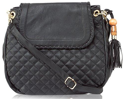 Big Buddha Carlton Crossbody Handbag