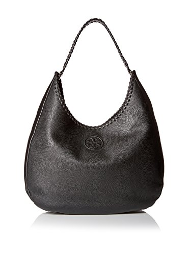 Tory Burch Marion Hobo Leather Shoulder Bag