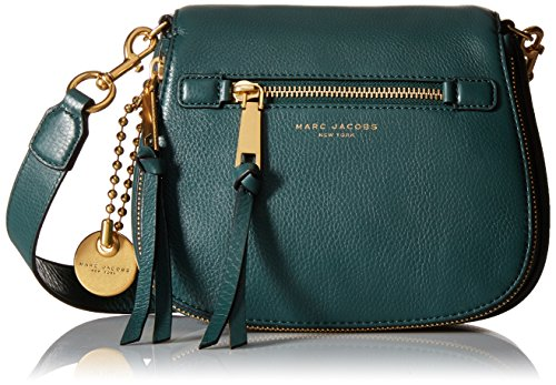 Marc Jacobs Recruit Saddle Cross Body Bag, Green Jewel, One Size