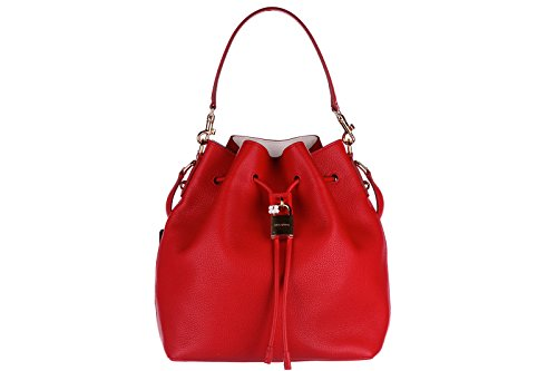 Dolce&Gabbana women's leather cross-body messenger shoulder bag claudia flower d