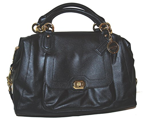 Coach Campbell Leather Turnlock Large Satchel 25508