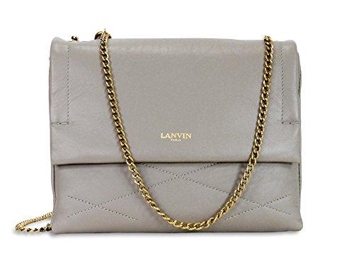 Lanvin Mini Sugar Shoulder Bag – Grey