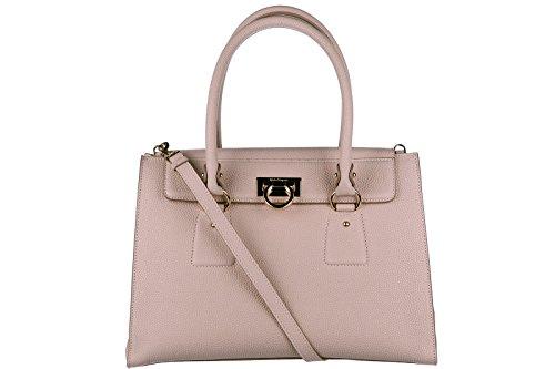Salvatore Ferragamo women's leather shoulder bag original lotty beige