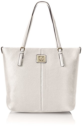Anne Klein Perfect Tote Large Shoulder Bag, Magnolia, One Size