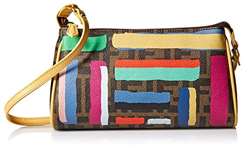 Fendi Women's Logo Wristlet, Multi