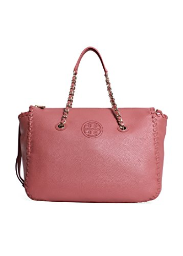 Tory Burch Marion Satchel Maple Sugar