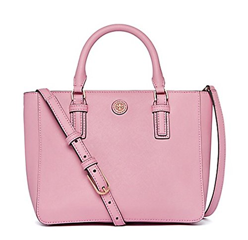 Tory Burch Robinson Mini Square Tote /Rose Sachet, One Size