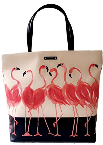 Kate Spade Flamingo Bon Shopper Tote Bag