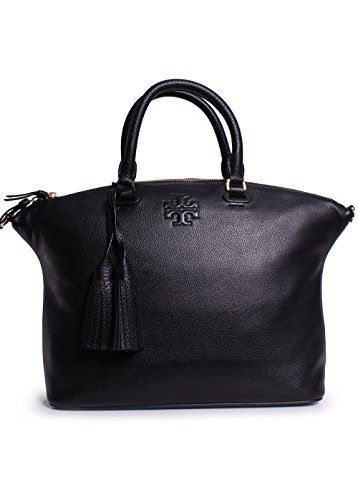 Tory Burch Thea Medium Slouchy Satchel in Black