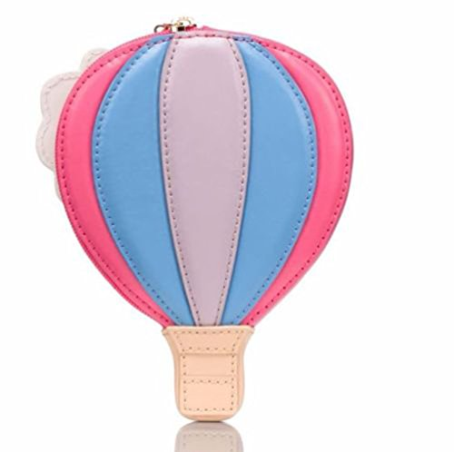 Kate Spade Hot Air Balloon Leather Coin Purse GET CARRIED AWAY