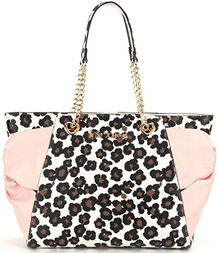 Betsey Johnson Hotty Pocket Tote Leopard