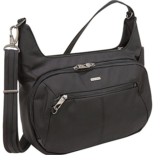 Travelon Anti-Theft Concealed Carry Hobo Messenger Bag